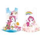 Niños niña tendencia vestido caballo Unicornio Uni