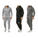 Men's Trend Jogging Suit Sports Suit Hoody Spo