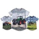 Großhandel Kinder- und Babybekleidung: Kinder Jungen T-Shirt Traktor Bauer Farmer Shirt