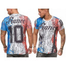 Großhandel Shirts & Tops: Herren Men T-Shirt  Fan WM Länder Shirt Frankreich