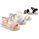Kids meisje zomer sandaal Pools strass stenen