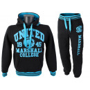 Men's jogging suit college sports suit coton