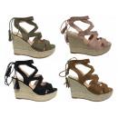 Ladies Woman Summer Espadrilles Wedge Sandal