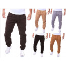 Großhandel Jeanswear: Herren Chino  Joggers Loose Fit Chinohose Jogg-Jean