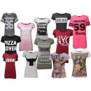 ingrosso T-shirts & Tops: Donne donna manica  corta T-shirt Mix Scene girocol