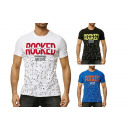 Mens Men's Trend T-Shirt Rocked New York Shirt