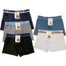Herren Boxershorts Stretch Boxer Trend Uni Basic