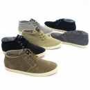 Echt-Leder Damen Sneaker slipper Freizeit Schuhe