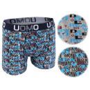 Men's Boxershorts letters UOMO Boxer Shorts