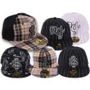 Großhandel Kopfbedeckung: Basecap Cappy Cap  Caps Kappe Strass Mix Trucker