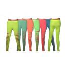 Fashionable Ladies Leggings Leggings Neon look