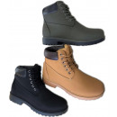 Men's Trend Ankle Boots 40-45 Lace-up Shoes Bo