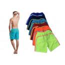 Men's Neon Short Swim Shorts Strip Trunks