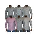 Chemise sport Casual Shirts pour hommes Chemise dé
