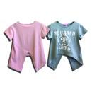 I bambini Mullet asimmetrica Top T-Shirt Shirts Ki