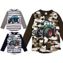 Kids boy tractor Camouflage stars stripes