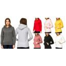 Großhandel Pullover & Sweatshirts: Damen Trend Pullover Hoody Basic ...