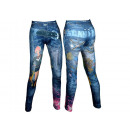 Großhandel Jeanswear: Modische Damen Leggings Leggins Jeans-Look