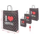 mayorista Papel regalo: Bolsa de transporte de moda Bolsa de papel ...