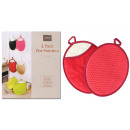 Silicone coton mitts Heat resistant cooking