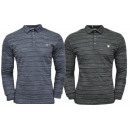 Men's Trend Polo Shirt Sweatshirt Polo Longsle