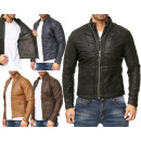 Men's Men's Trend Leather Jacket Motorcycl