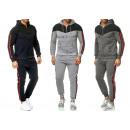 Men's Trend Jogging Suit Sports Suit Hoody Spo