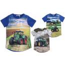 Kids Boys T-Shirt Tractor Farmer Farmer Shirt