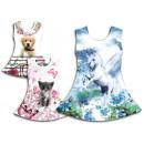 Großhandel Kinder- und Babybekleidung: Kinder Mädchen  Kleid Girl Kleider Oberteile Mix