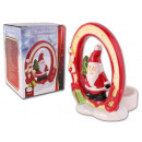 Tealight holder Christmas Santa Claus gift