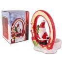 Tealight tartó Karácsony Mikulás Ajándék