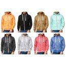 Großhandel Mäntel & Jacken: Herren Trend Sweatshirtjacke Jacke Pullover Hoody