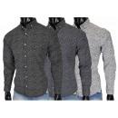 High quality stretch men's shirt leisure shirt