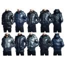 manteau de veste d'hiver pour hommes Mix Blous