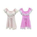 Gyerek gyerekek lányok öltözködnek Volant Off-Shou