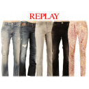 Großhandel Ringe: Original Replay  Damen Hose Jeans Hosen Mix