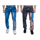Fashionable mens jeans trousers fan WM countries A