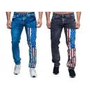Großhandel Jeanswear: Modische Herren Jeanshose Fan WM Länder Amerika
