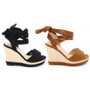 Ladies Woman Summer Trend Wedge Sandal