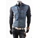Herren Jeansjacke Jeans Jacken Freizeitjacke Jacke