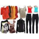 Women's clothing Mix items Blouses Jackets Pan
