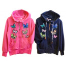 Kids Girls Cardigan Sweater Hoody