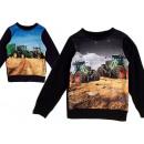 Kids Boys Sweater Tractor Farmer Farmer Long
