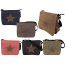 ingrosso Borse & Viaggi: sacchetti in  tessuto di tela  della stella Mix ...