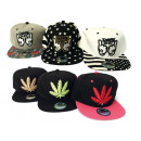 Basecap Cap Caps Hat Mix Cannabis Dope Trucker