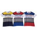 Kids Boys T-Shirt 4-14 Years Stripes Print