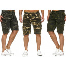 wholesale Shorts: Men Men Capri  Cargo Bermuda Camouflage Short