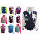 Damen Sportjacke College Jacken Freizeitjacke