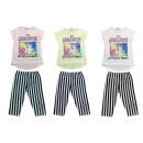 Gyerek lányok öltöny készlet 2 Trend T-Shirt nadrá