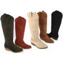 Großhandel Schuhe: Damen Woman Trend Stiefel Cowboy Boots Outdoor